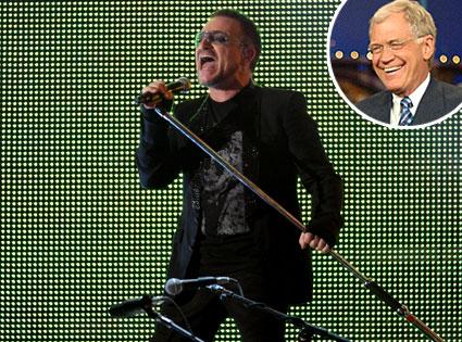 U2, David Letterman