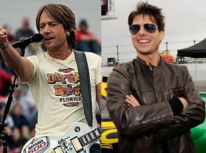Tom Cruise, Keith Urban