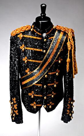 Michael Jackson, Thriller Military Suit