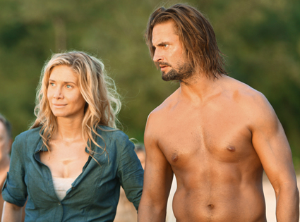 Josh Holloway, Elizabeth Mitchell, Lost
