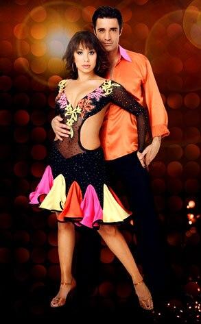 Cheryl Burke, Gilles Marini, Dancing with the Stars