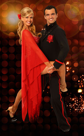 Nancy O'Dell, Tony Dovolani, Dancing with the Stars