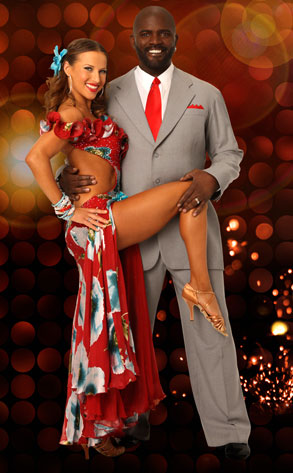 Edyta Sliwinska, Lawrence Taylor, Dancing with the Stars