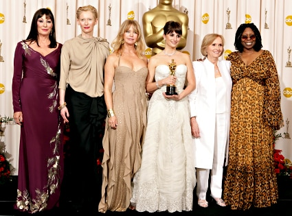 Anjelica Huston, Tilda Swinton, Goldie Hawn, Penelope Cruz, Eva Marie Saint, Whoopi Goldberg