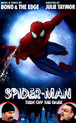 Spider-Man: Turn Off the Dark, Bono, The Edge