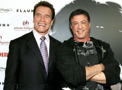 Arnold Schwarzenegger, Sylvester Stallone