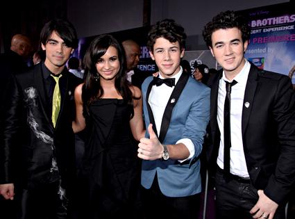 The Jonas Brothers, Demi Lovato