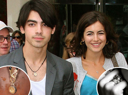 Camille Belle, Joe Jonas, Malawi Necklace and Ring