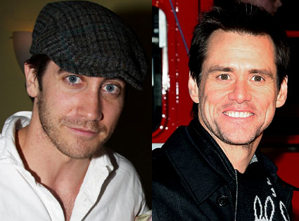 Jake Gyllenhaal, Jim Carrey