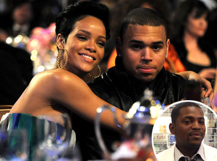 Rihanna, Chris Brown, Mekhi Phifer