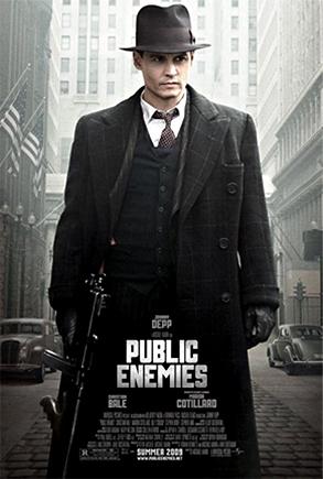 Johnny Depp, Public Enemies Poster