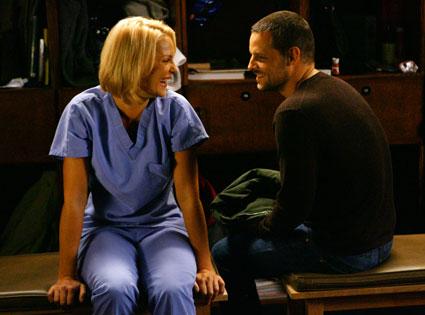 Katherine Heigl, Justin Chambers, Grey's Anatomy