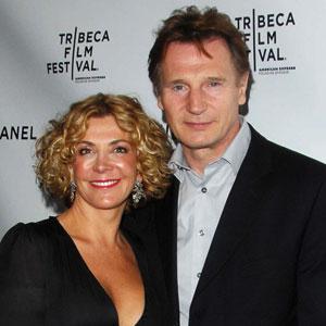 Liam Neeson on Losing Natasha Richardson: It Hits Me in the
