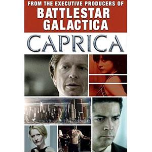 Battlestar Galactica: Caprica DVD Cover Art
