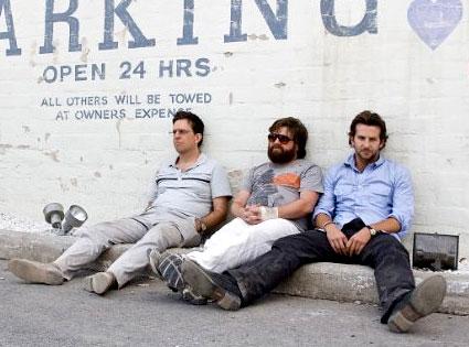 The Hangover, Bradley Cooper, Zach Galifianakis, Ed Helms