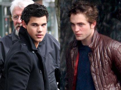 Frisuren Duell Taylor Lautner Und Rob Pattinson E News Uk