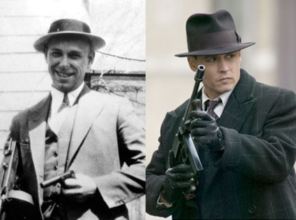 Johnny Depp, Public Enemies, John Dillinger
