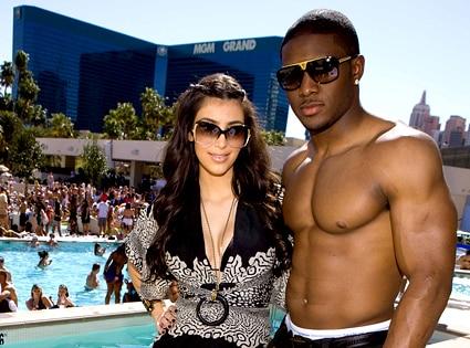 Kim Kardashian, Reggie Bush