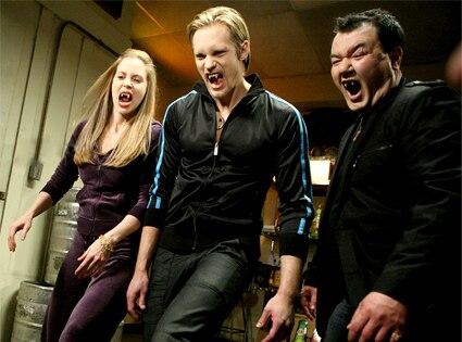 True Blood, Kristin Bauer, Alexander Skarsgard, Patrick Gallagher