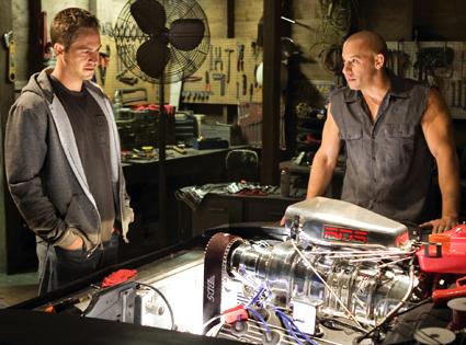 Vin Diesel, Paul Walker, Fast and Furious