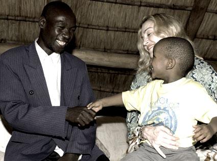 Madonna, David Banda, Yohanne Banda