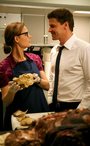 Emily Deschanel, David Boreanaz, Bones