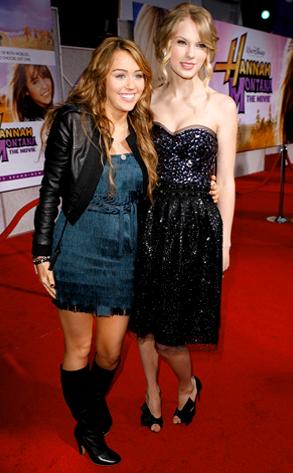 Miley Cyrus, Taylor Swift