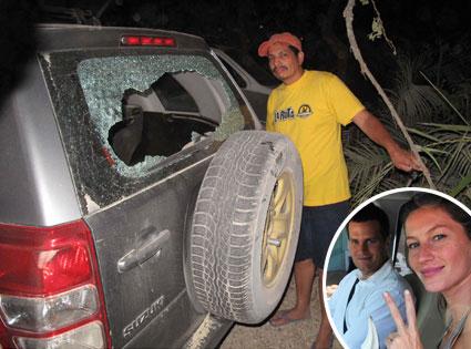 Gisele Bundchen, Tom Brady, Broken Window