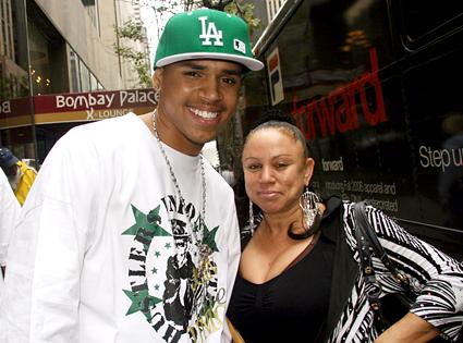 Chris Brown, Joyce Hawkins