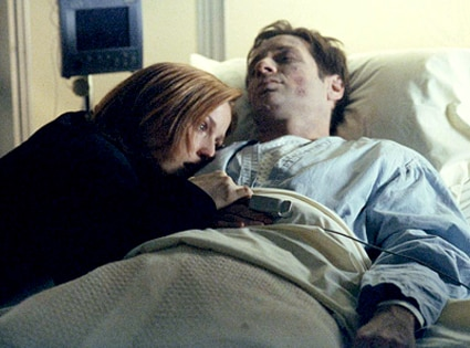 The X- Files, David Duchovny, Gillian Anderson