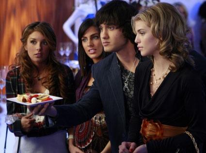 90210, Shenae Grimes, Jessica Lowndes, Michael Steger, AnnaLynn McCord