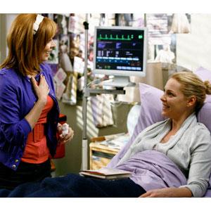 Katherine Heigl, Sharon Lawrence, Grey's Anatomy