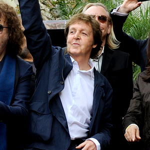 Paul McCartney, George Harrison Star Dedication