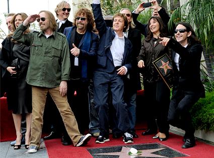 Tom Petty, Paul McCartney, George Harrison Star Dedication