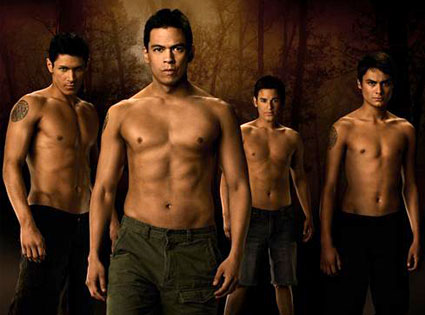 Alex Meraz, Chaske Spencer, Bronson Pelletier, Kiowa Gordon, Wolf Pack, New Moon