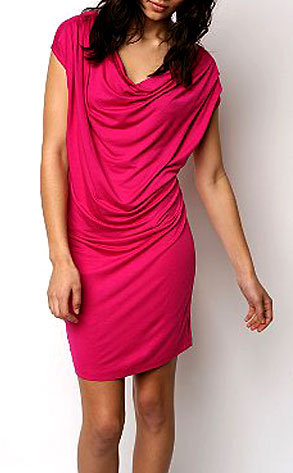 Urban Outfitters Silence & Noise Drape Cowl-neck Dress