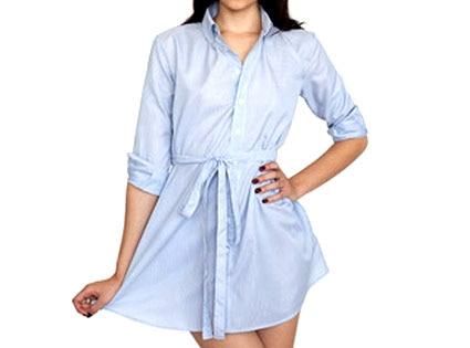 American Apparel's Shirt Dress