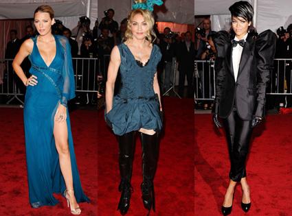 Blake Lively, Madonna, Rihanna