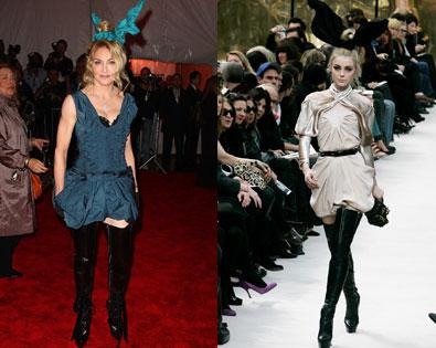 Madonna, Louis Vuitton Model