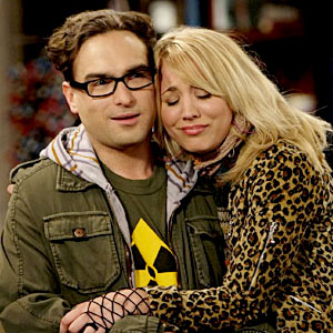 Big Bang Theory, Johnny Galecki, Kaley Cuoco