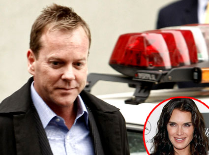 Kiefer Sutherland, Brooke Shields