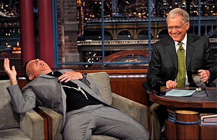 Robin Williams, David Letterman, The Late Show with David Letterman