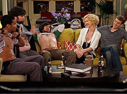 Accidentally on Purpose, Jenna Elfman, Jon Foster,Cory Hardrict,Josh Waters, Nicolas Wright
