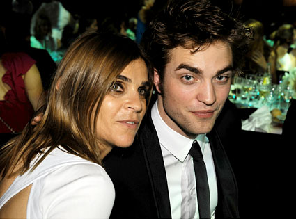Robert Pattinson, Carine Roitfeld