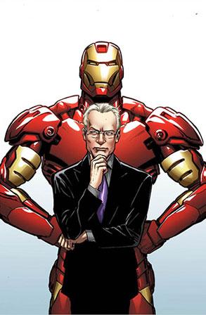Tim Gunn, Iron Man, Marvel Comic