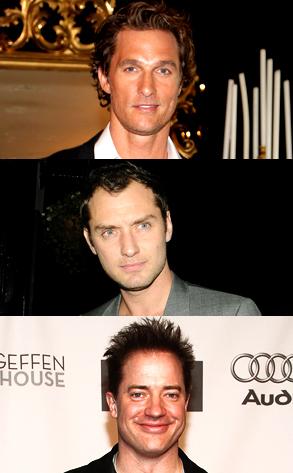 Matthew McConaughey, Jude Law, Brendan Fraser