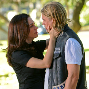 Maggie Siff, Charlie Hunnam, Sons of Anarchy