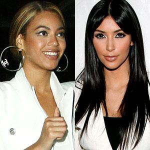 Beyonce, Kim Kardashian