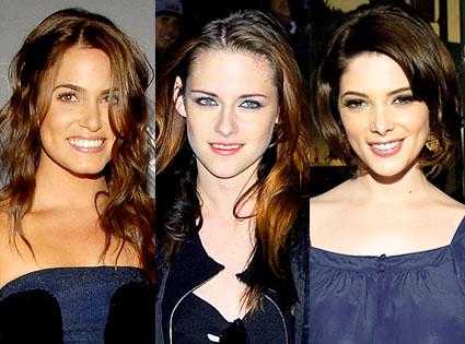 Nikki Reed, Kristen Stewart, Ashley Greene