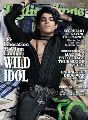 Adam Lambert, Rolling Stone